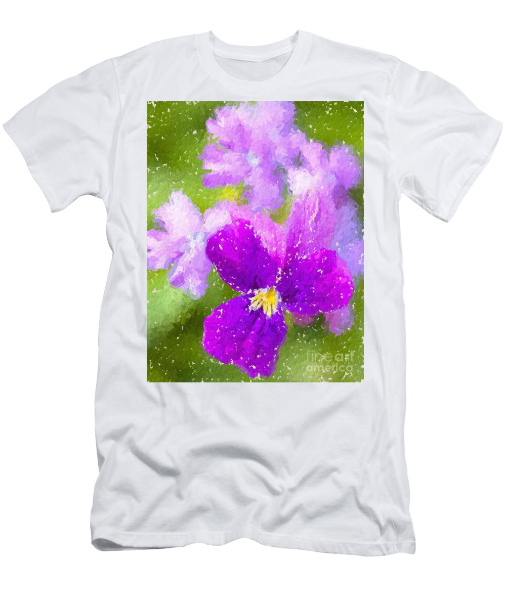 Men's T-Shirt (Athletic Fit) featuring the photograph Spring Colors by Heidi Smith
