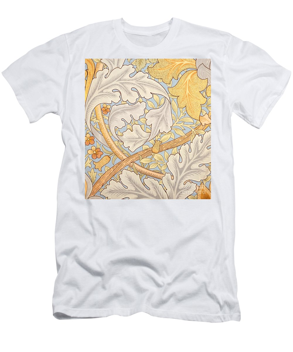 St James T-Shirt featuring the painting St James Wallpaper Design by William Morris