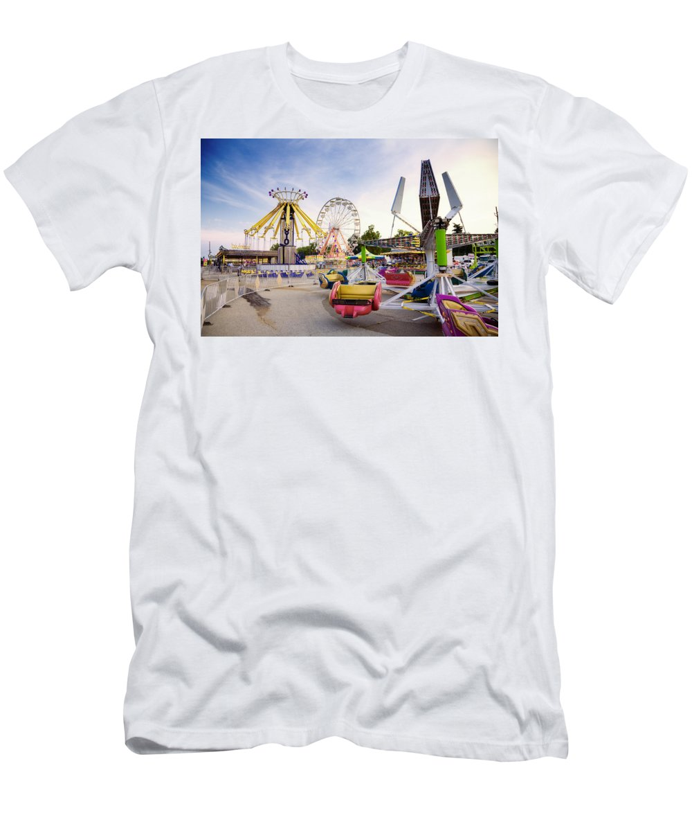 State Men's T-Shirt (Athletic Fit) featuring the photograph State Fair by Alexey Stiop