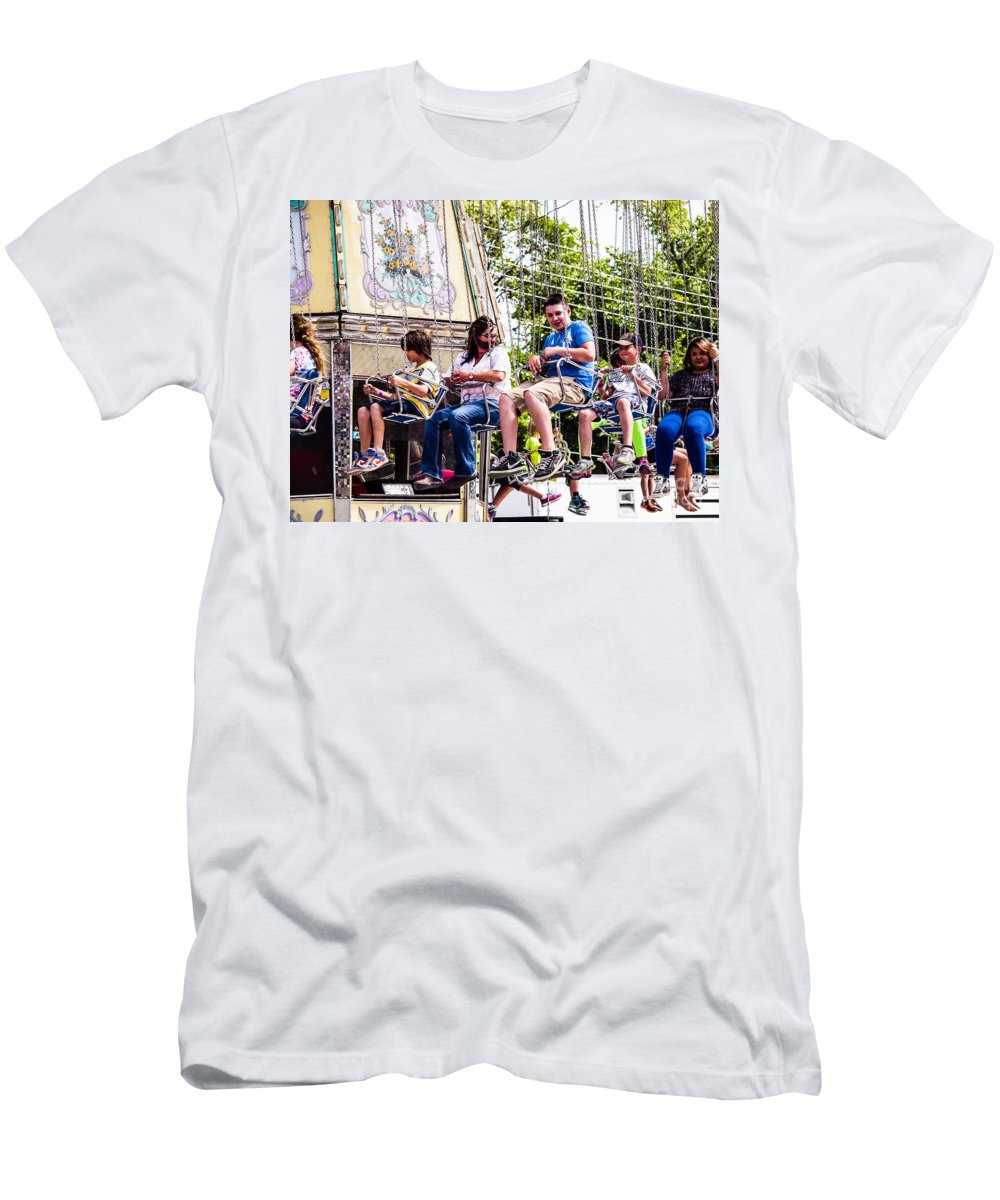 What A Ride Men's T-Shirt (Athletic Fit) featuring the photograph Summer-9 by David Fabian