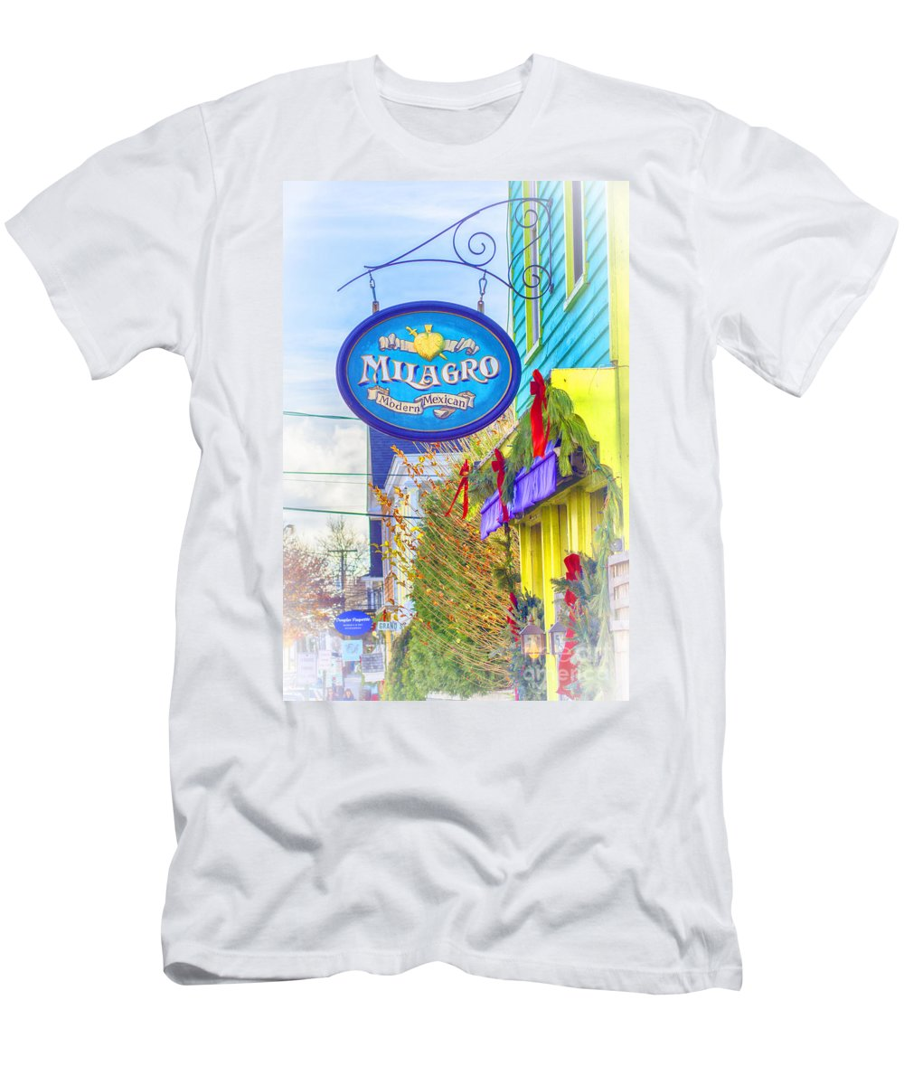 Milagro Men's T-Shirt (Athletic Fit) featuring the photograph The Good Stuff by Joe Geraci