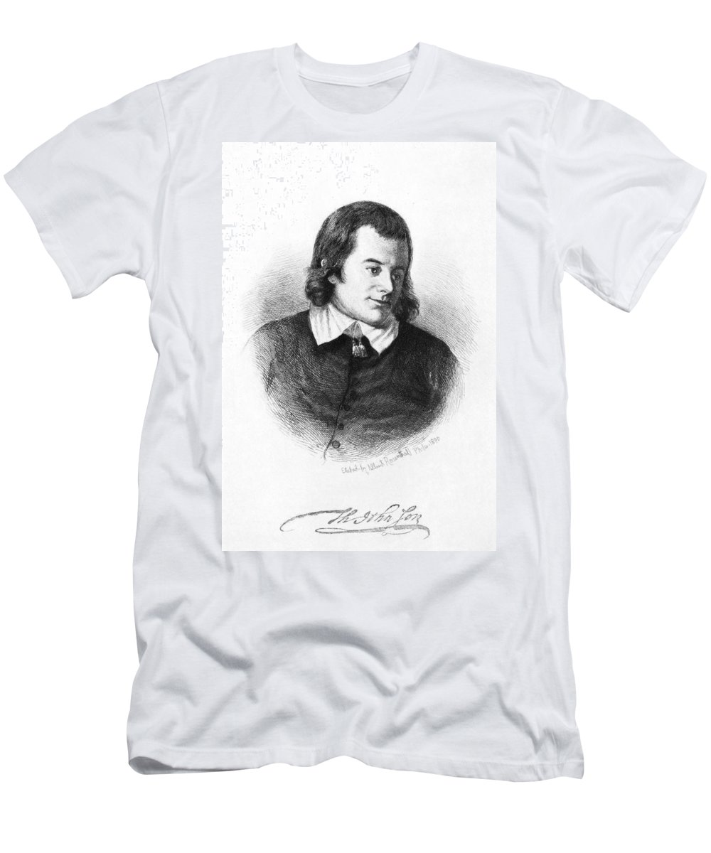 18th Century Men's T-Shirt (Athletic Fit) featuring the photograph Thomas Johnson (1732-1819) by Granger