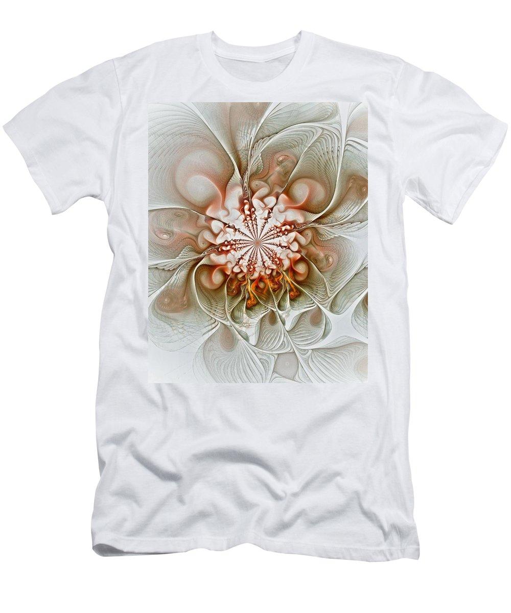 Digital Art Men's T-Shirt (Athletic Fit) featuring the digital art Treasured by Amanda Moore