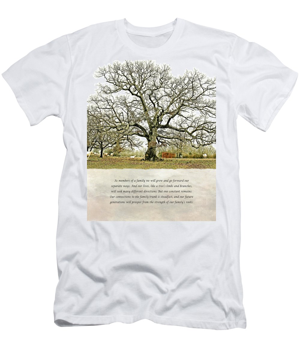 North Carolina Men's T-Shirt (Athletic Fit) featuring the photograph Tree Of Life by Stephen Warren