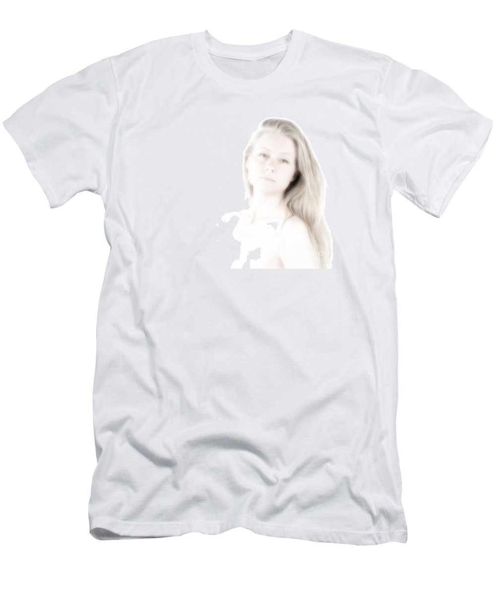 Festblues Men's T-Shirt (Athletic Fit) featuring the photograph Unclear Visions.. by Nina Stavlund
