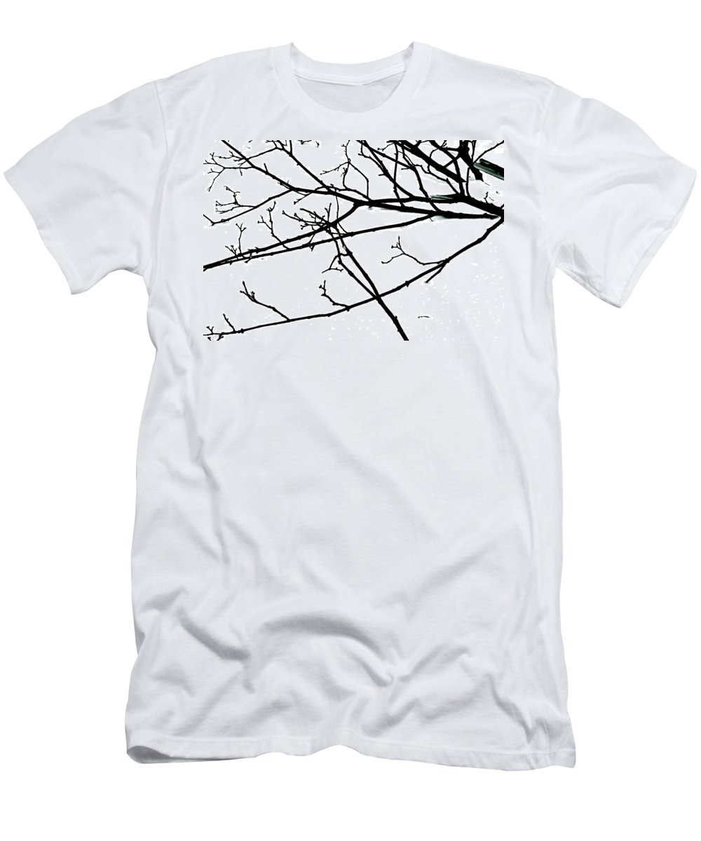 Winter Men's T-Shirt (Athletic Fit) featuring the photograph Uninterrupted Journey by Ira Shander