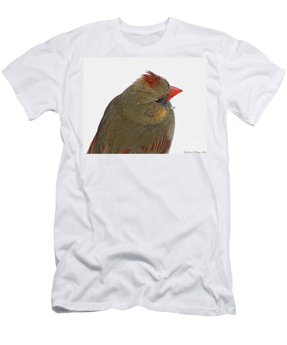 Cardinal Men's T-Shirt (Athletic Fit) featuring the photograph Veiw From Above by Debbie Portwood