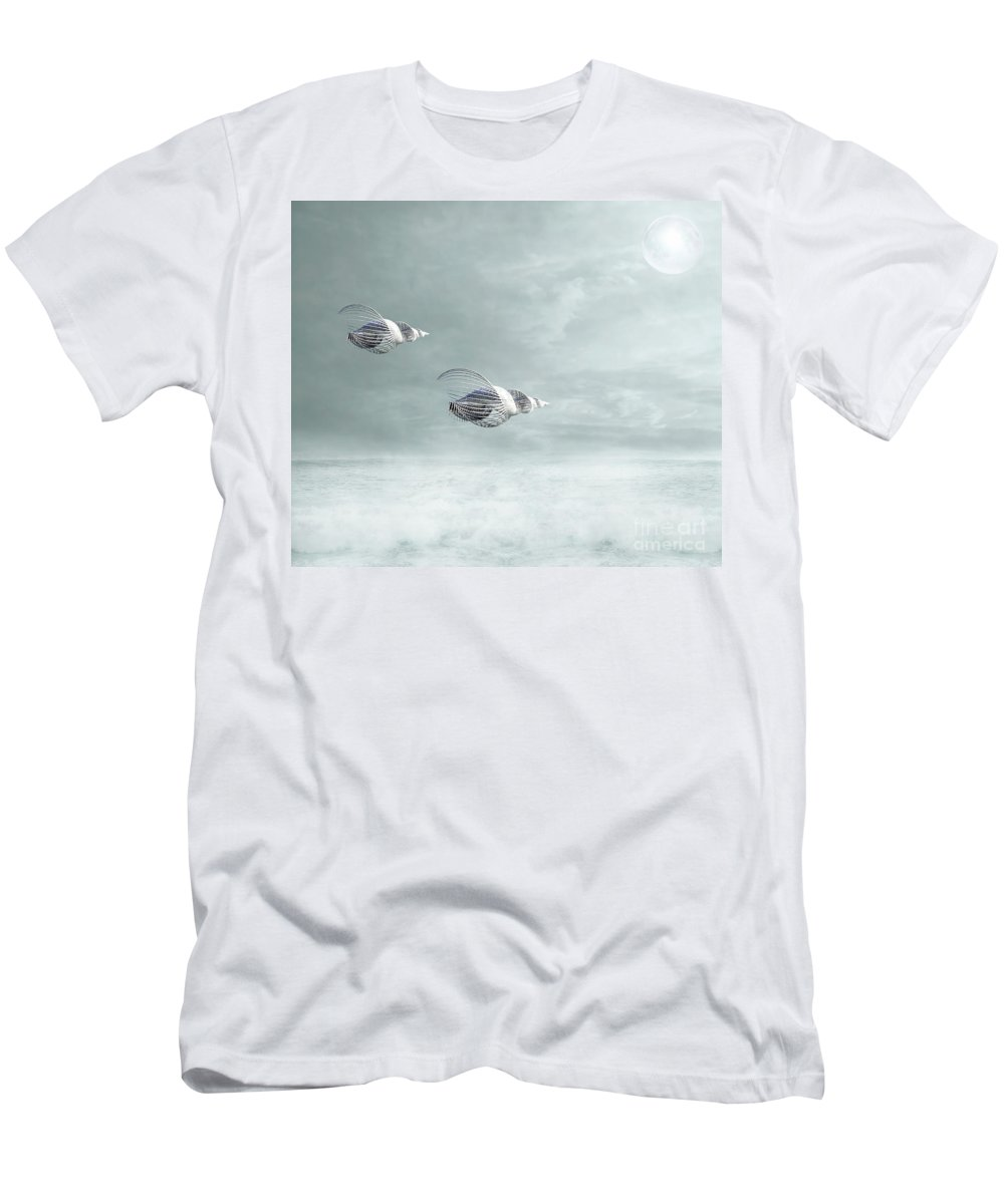 Art Men's T-Shirt (Athletic Fit) featuring the photograph Voyage by Jacky Gerritsen