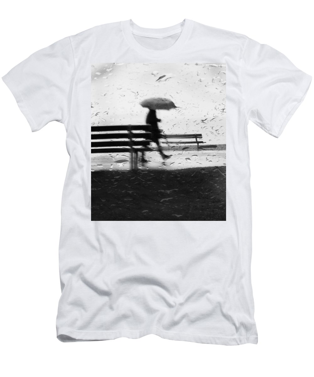 Street Photography Men's T-Shirt (Athletic Fit) featuring the photograph Walk Continued by The Artist Project