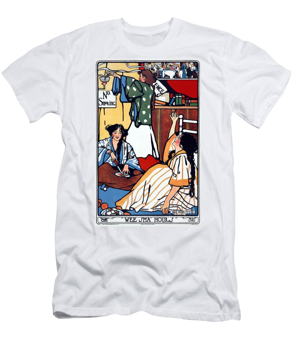 1909 Men's T-Shirt (Athletic Fit) featuring the photograph Wee Sma Hours 1909 by Granger