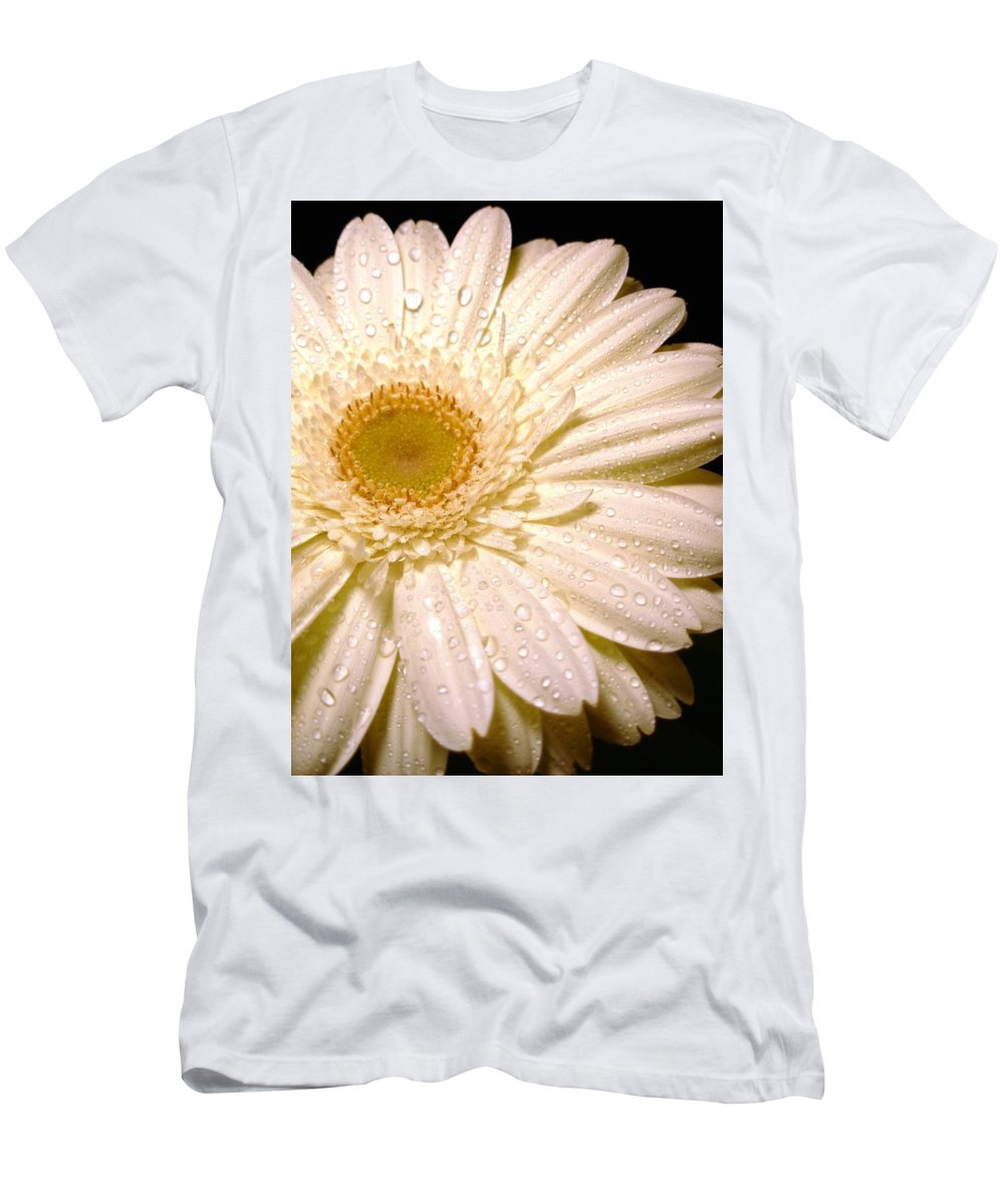 Gerbera Photographs Men's T-Shirt (Athletic Fit) featuring the photograph 0878.2.1 by Kimberlie Gerner