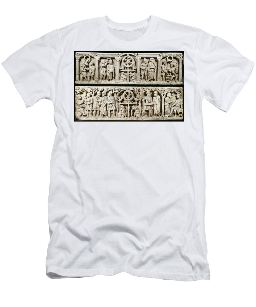 4th Century Men's T-Shirt (Athletic Fit) featuring the photograph Jesus: Passion by Granger