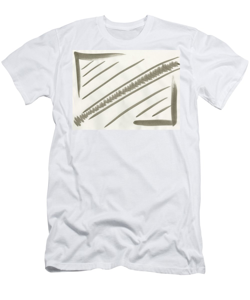 Natural Order Men's T-Shirt (Athletic Fit) featuring the painting Natural Order by Taylor Webb