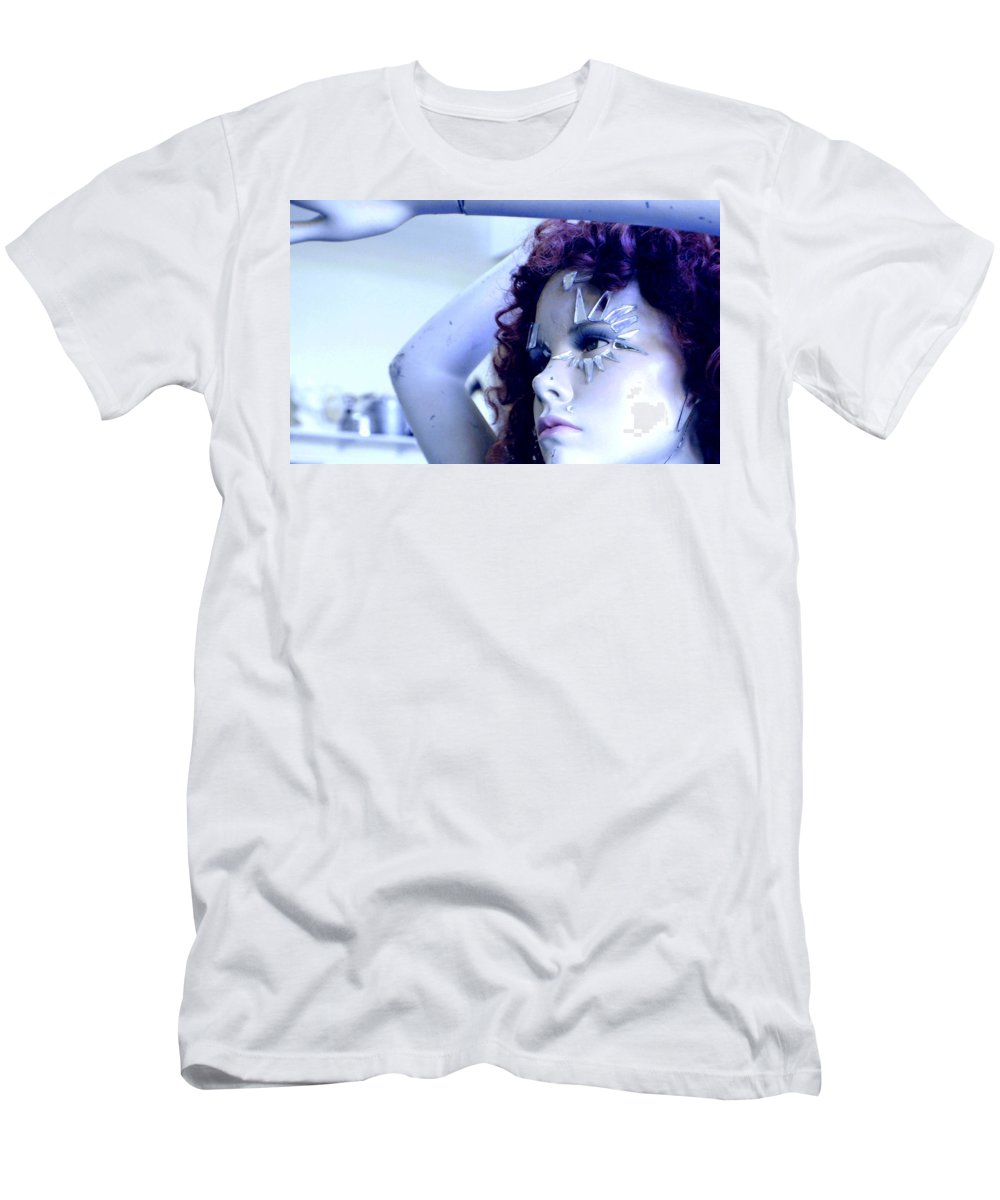 Woman Men's T-Shirt (Athletic Fit) featuring the photograph The Girl by Marysue Ryan