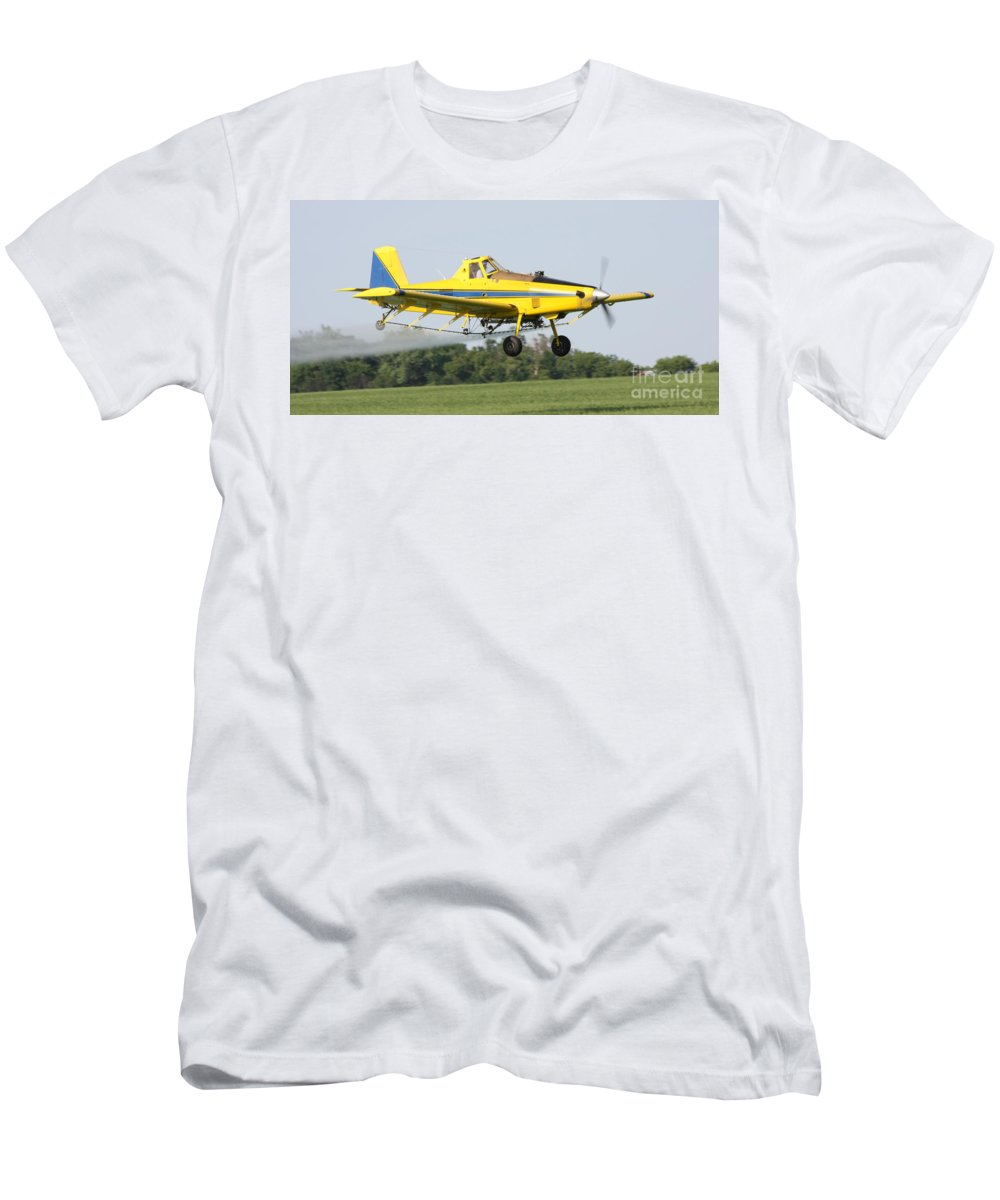 Plane Men's T-Shirt (Athletic Fit) featuring the photograph Plane by Lori Tordsen
