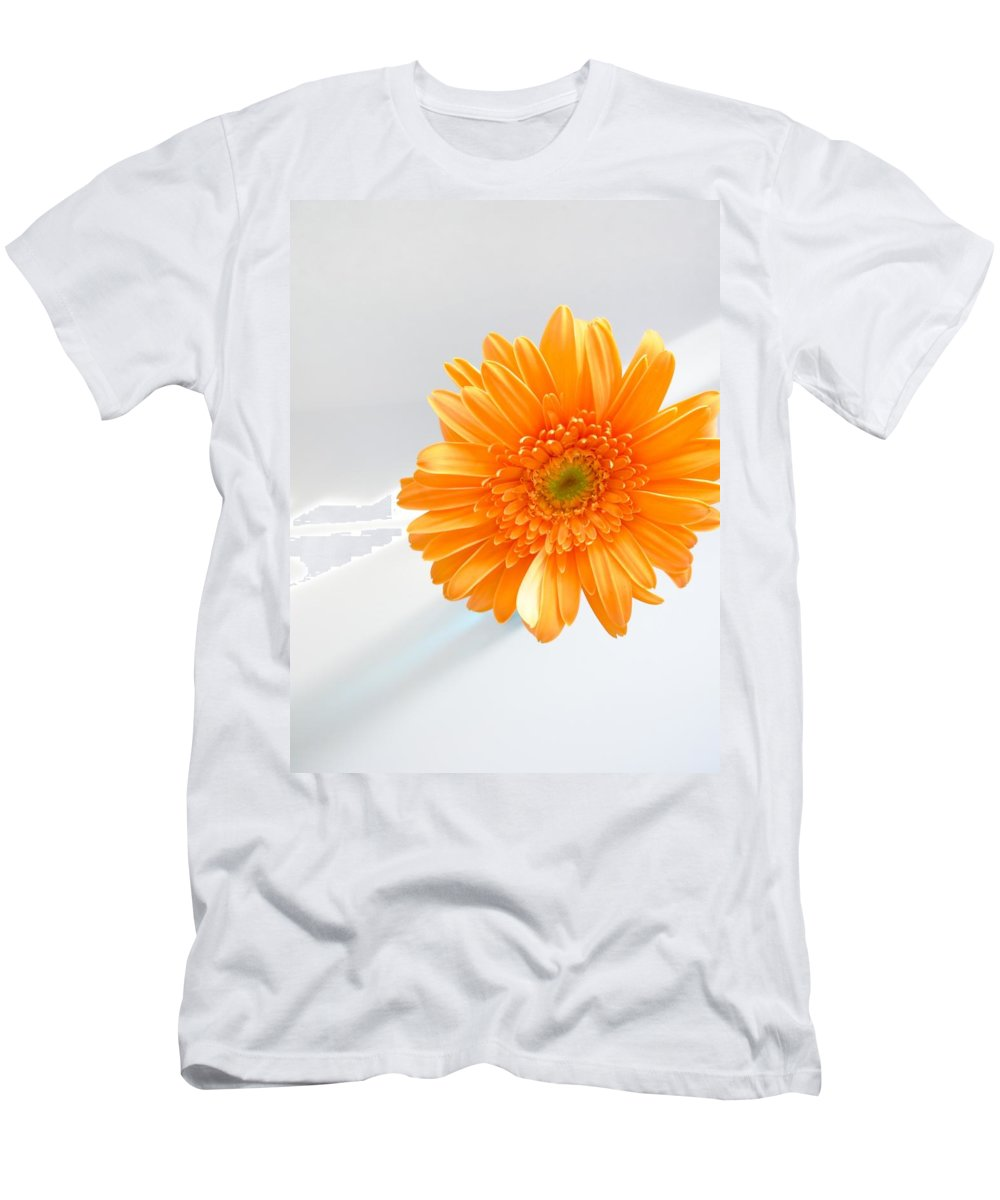 Gerbera Photographs Men's T-Shirt (Athletic Fit) featuring the photograph 1610c by Kimberlie Gerner