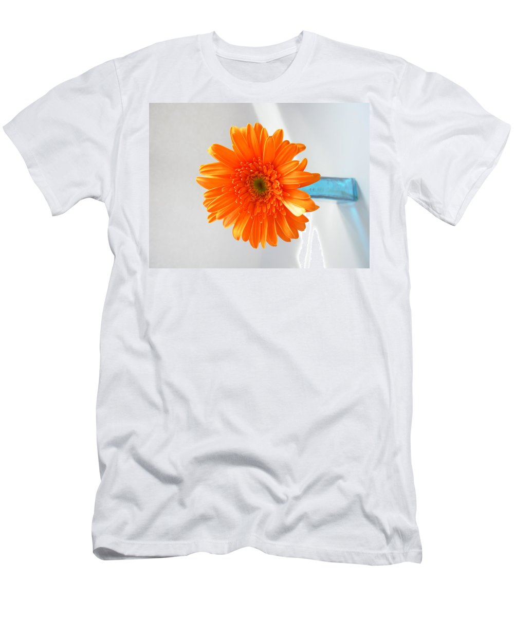 Gerbera Photographs Men's T-Shirt (Athletic Fit) featuring the photograph 1612 by Kimberlie Gerner