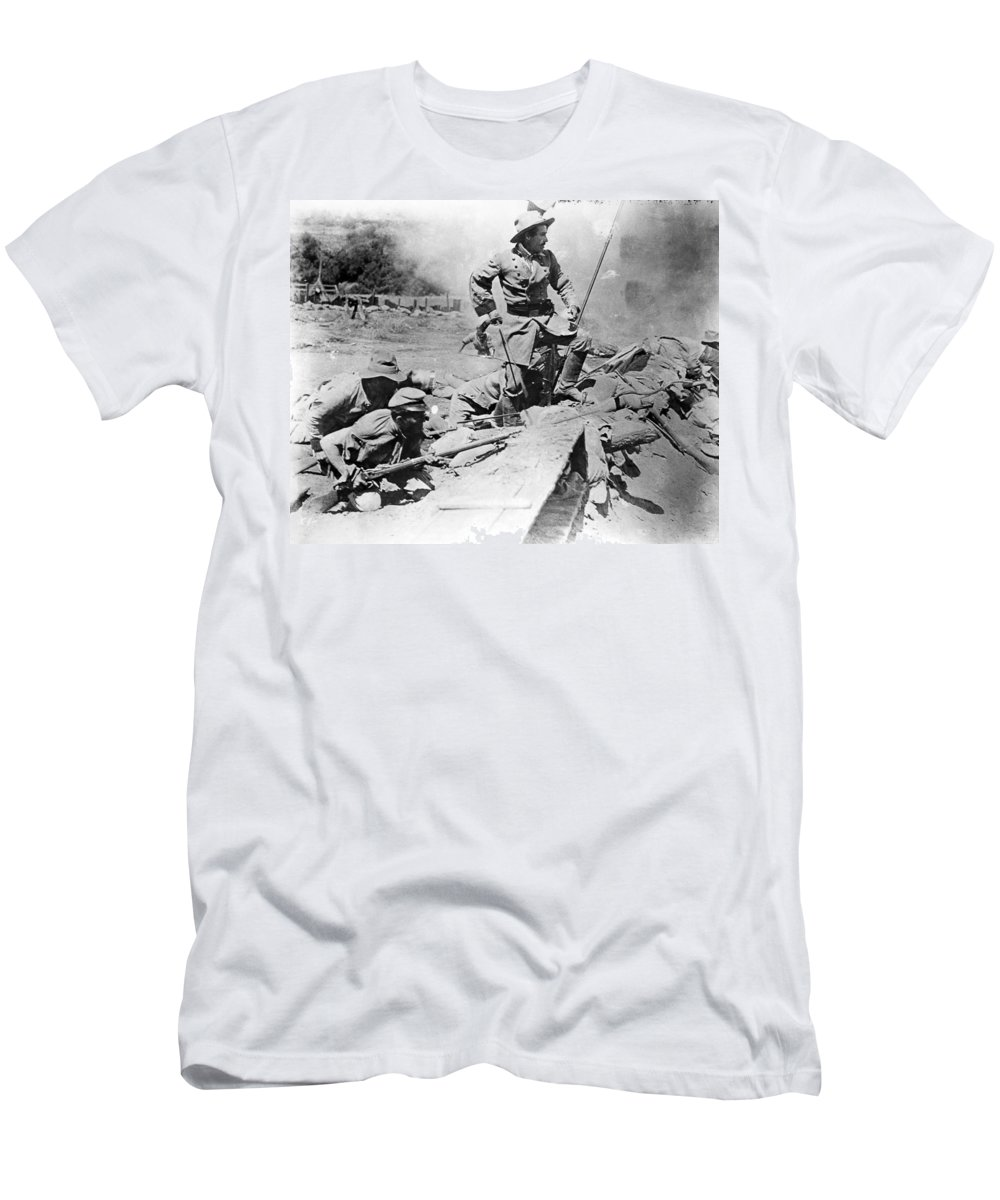 1915 Men's T-Shirt (Athletic Fit) featuring the photograph Birth Of A Nation, 1915 by Granger