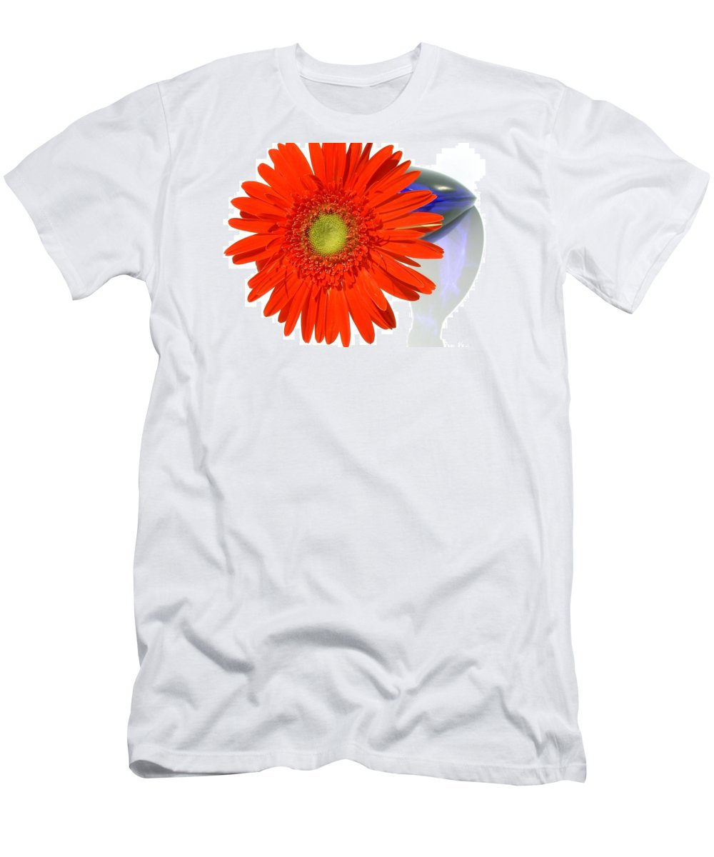 Gerbera Photographs Men's T-Shirt (Athletic Fit) featuring the photograph 2035a1c-001 by Kimberlie Gerner