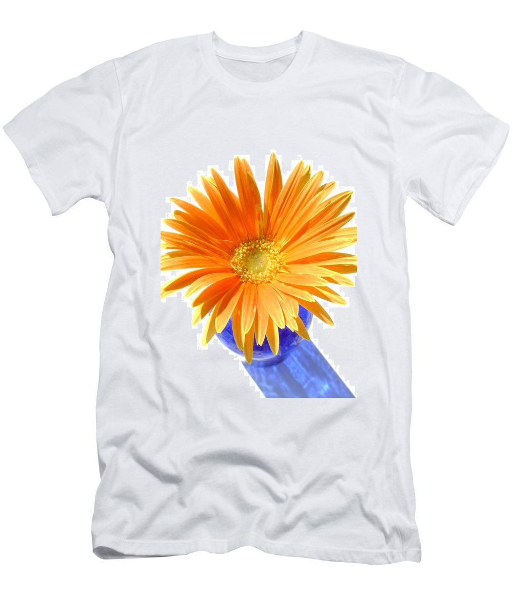Gerbera Photographs Men's T-Shirt (Athletic Fit) featuring the photograph 2098-1z by Kimberlie Gerner