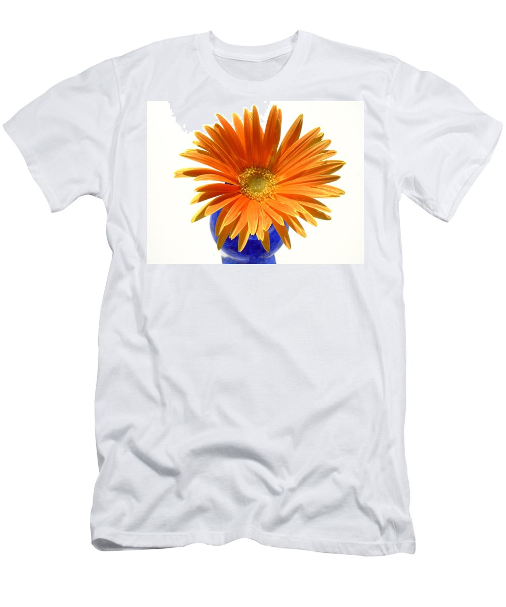 Gerbera Photographs Men's T-Shirt (Athletic Fit) featuring the photograph 2102a by Kimberlie Gerner