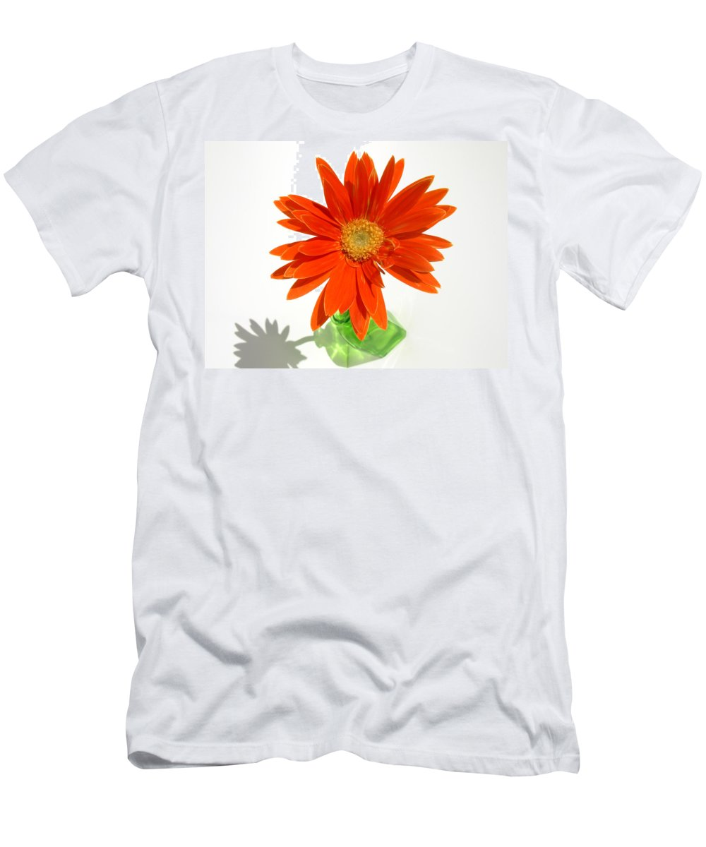 Gerbera Photographs Men's T-Shirt (Athletic Fit) featuring the photograph 2116a by Kimberlie Gerner