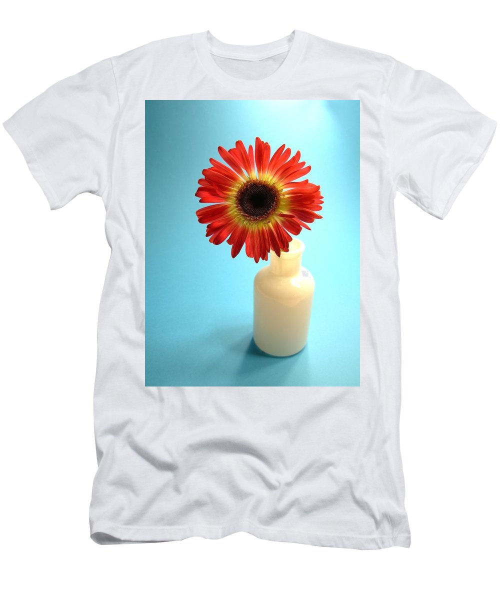 Gerbera Photographs Men's T-Shirt (Athletic Fit) featuring the photograph 2230c1 by Kimberlie Gerner