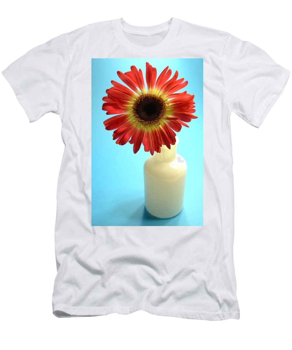 Gerbera Photographs Men's T-Shirt (Athletic Fit) featuring the photograph 2231c1-001 by Kimberlie Gerner