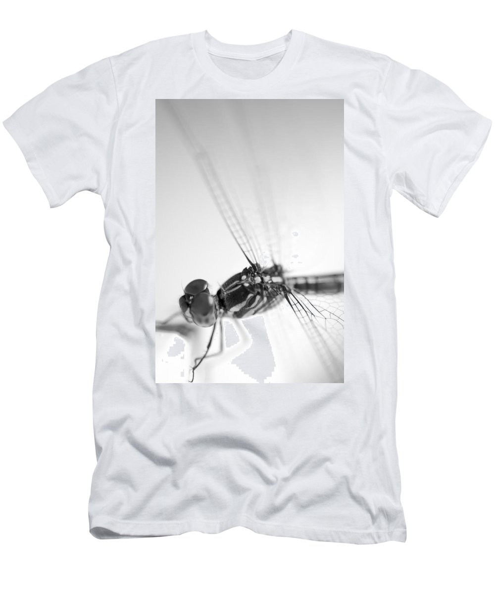 Lightweight Men's T-Shirt (Athletic Fit) featuring the photograph Close Up Shoot Of A Anisoptera Dragonfly by U Schade
