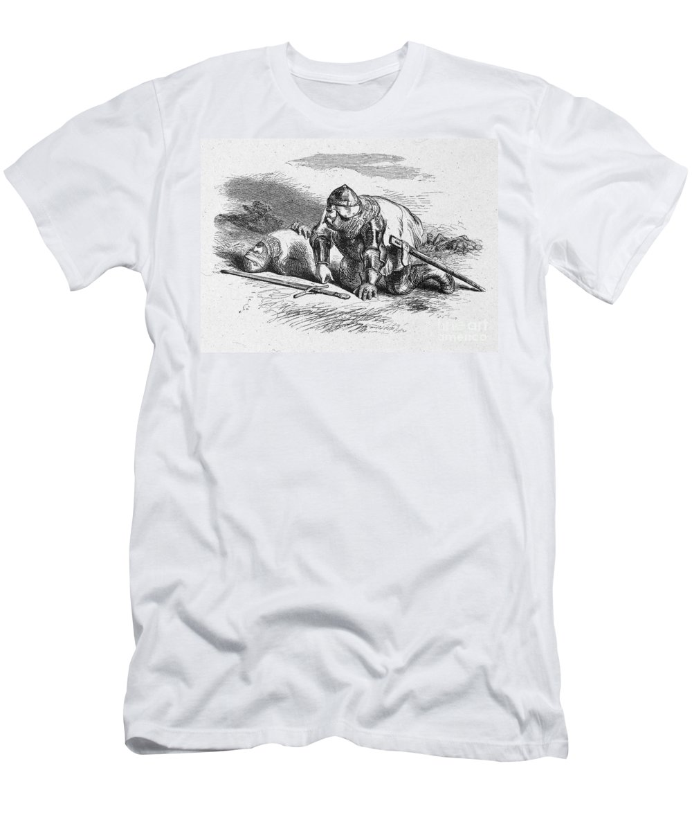 16th Century Men's T-Shirt (Athletic Fit) featuring the photograph Shakespeare: Henry Iv by Granger