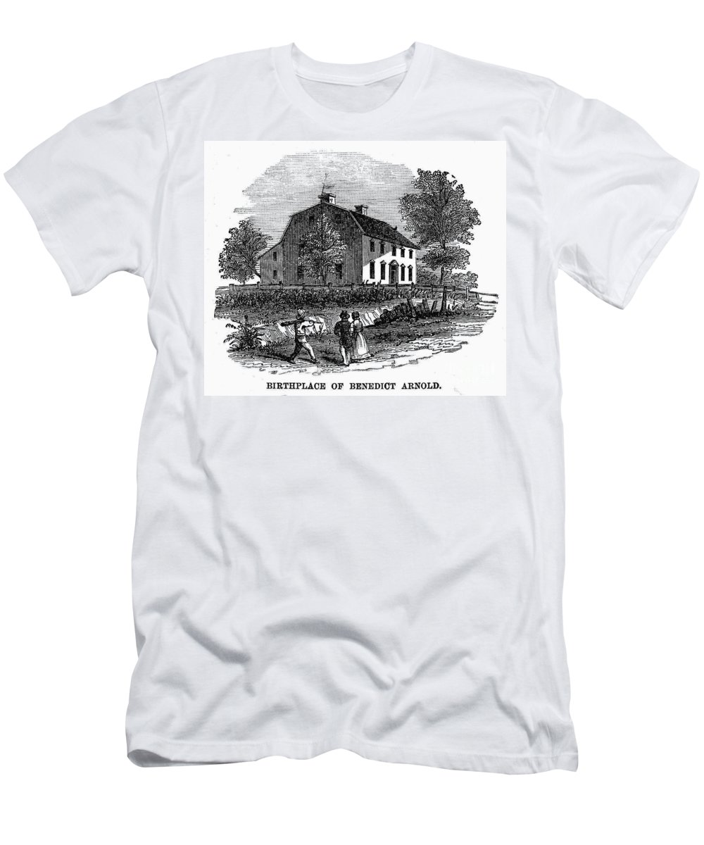 1741 Men's T-Shirt (Athletic Fit) featuring the photograph Benedict Arnold (1741-1801) by Granger