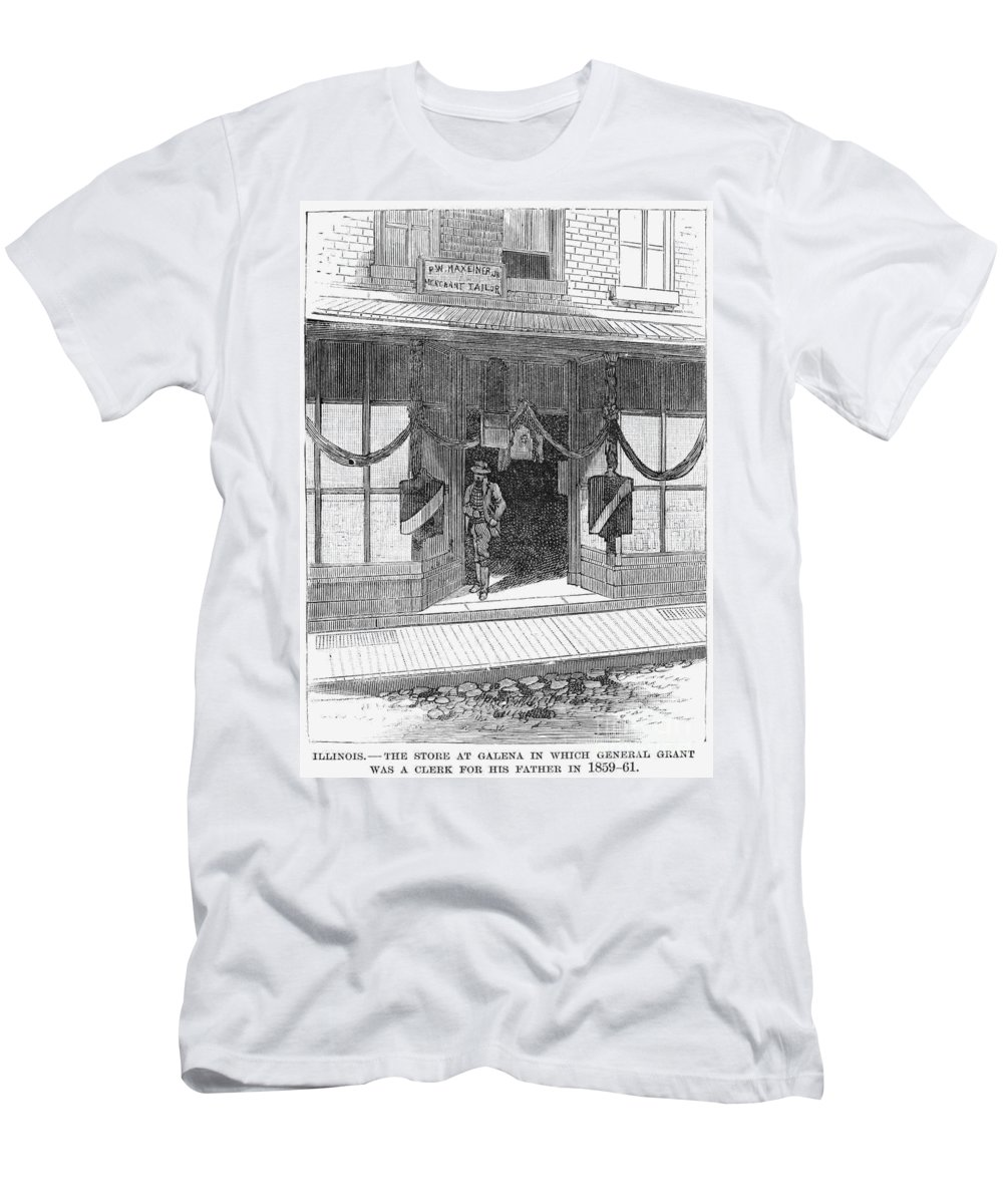 1885 Men's T-Shirt (Athletic Fit) featuring the photograph Ulysses S. Grant by Granger
