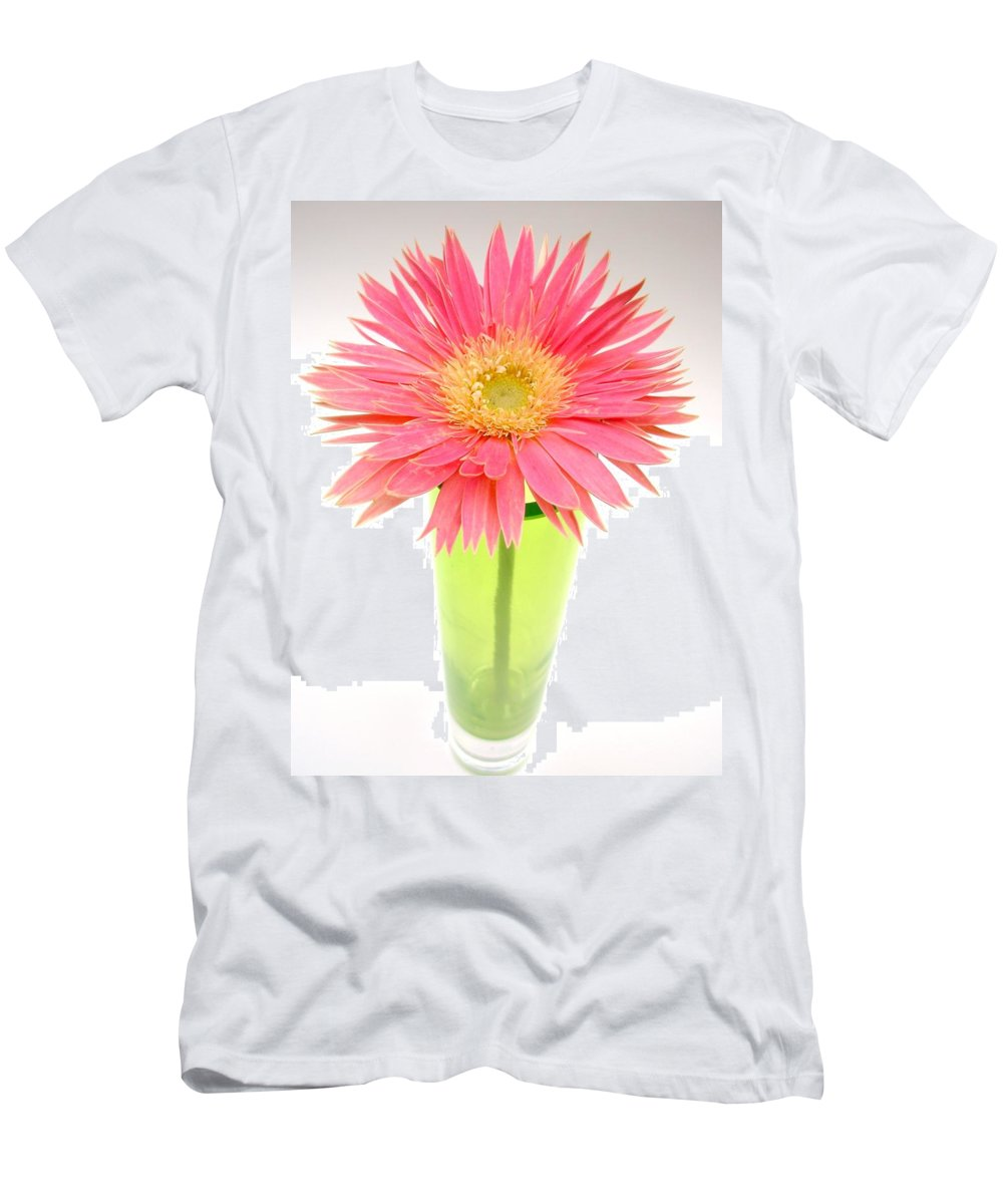 Gerbera Photographs Men's T-Shirt (Athletic Fit) featuring the photograph 5439c3 by Kimberlie Gerner