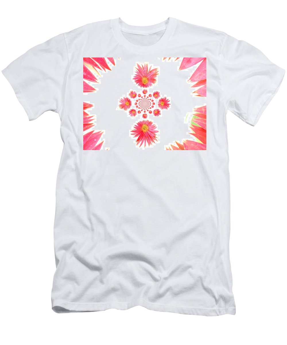 Gerbera Photographs Men's T-Shirt (Athletic Fit) featuring the photograph 5466pn1 by Kimberlie Gerner