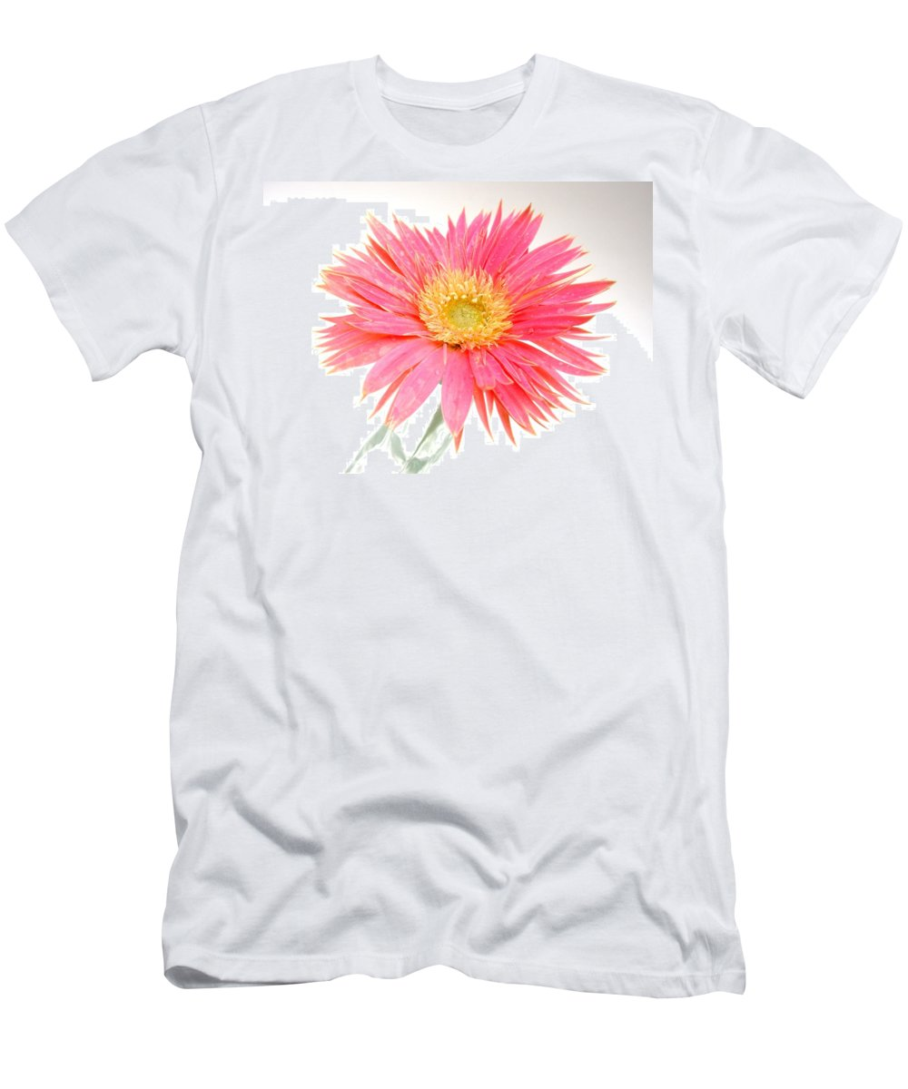 Gerbera Photographs Men's T-Shirt (Athletic Fit) featuring the photograph 5491c1 by Kimberlie Gerner
