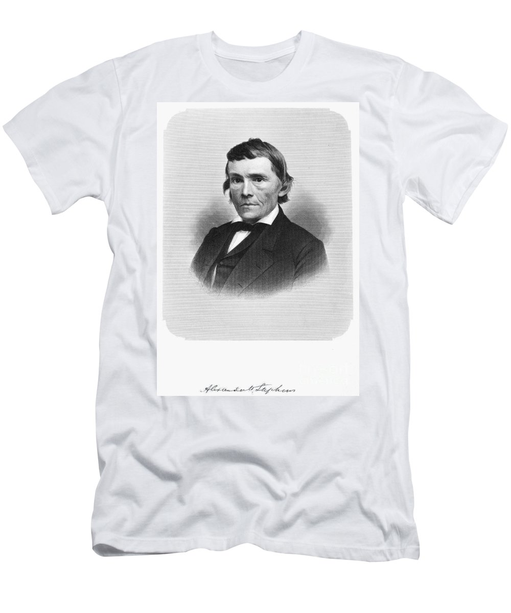 1872 Men's T-Shirt (Athletic Fit) featuring the photograph Alexander H. Stephens by Granger