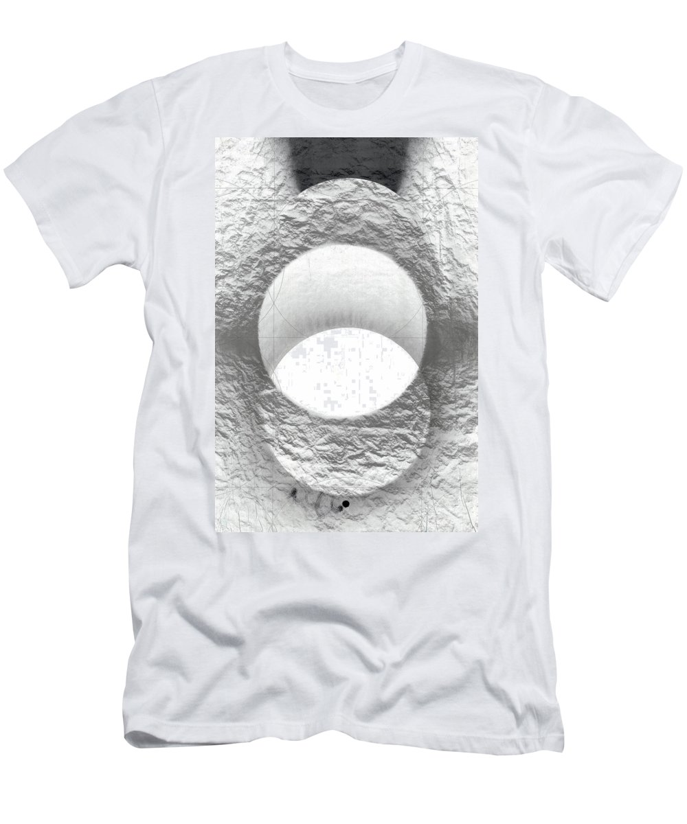 Lithograph Men's T-Shirt (Athletic Fit) featuring the photograph Aspiring To Be by David Kleinsasser
