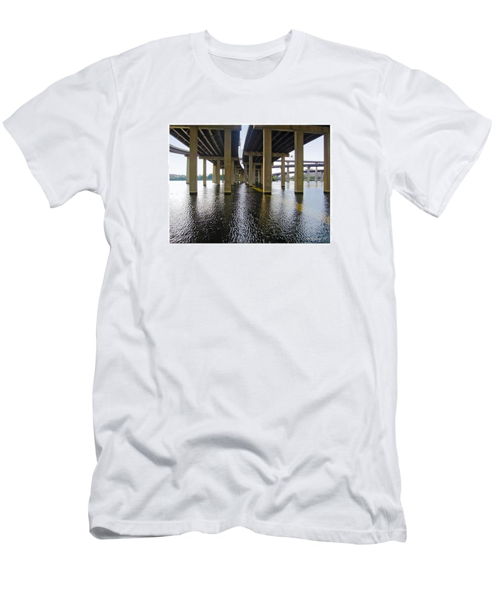 2d Men's T-Shirt (Athletic Fit) featuring the photograph Baltimore By-pass by Brian Wallace
