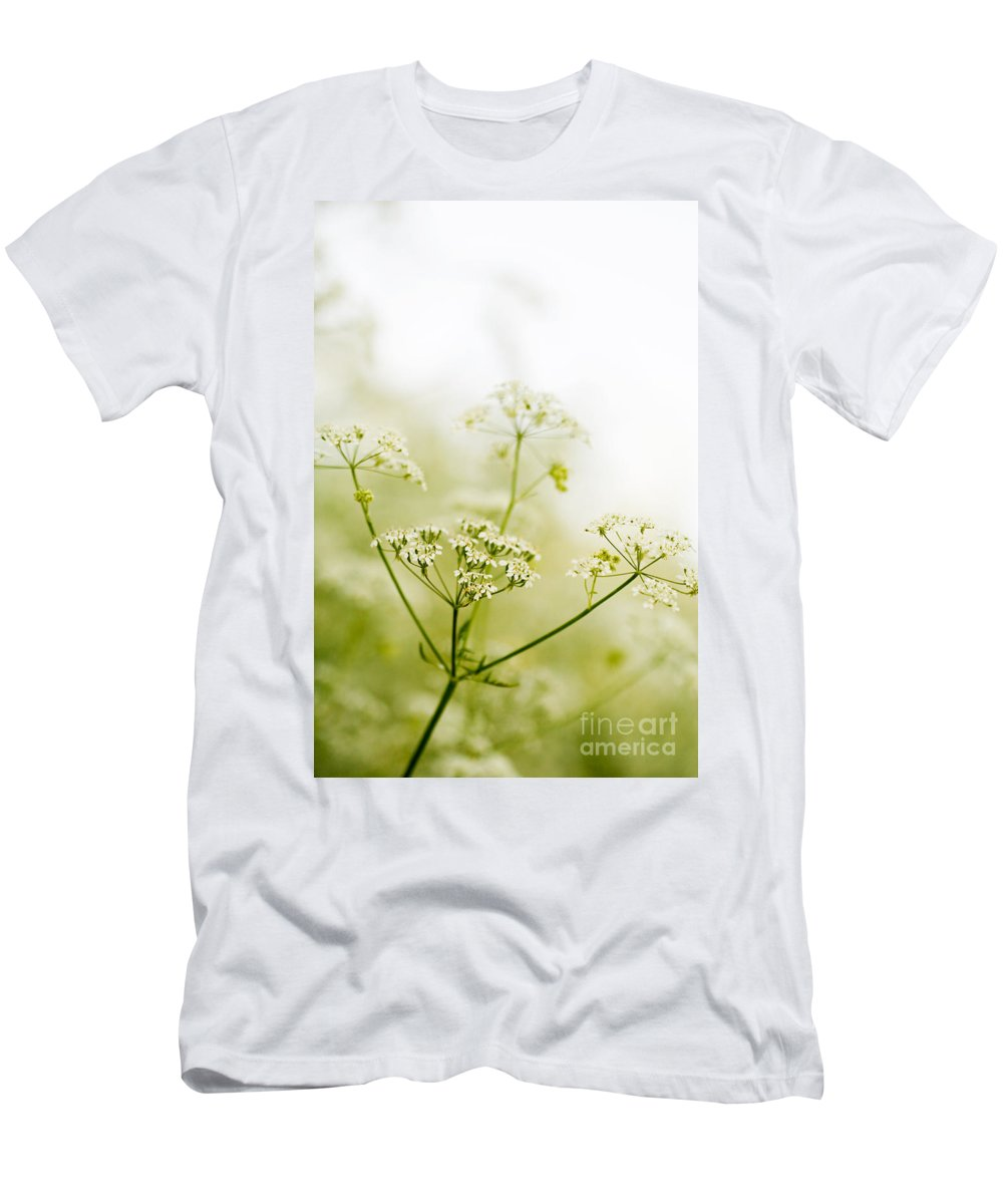 Flower Men's T-Shirt (Athletic Fit) featuring the photograph Beauty In Nature by Kati Finell