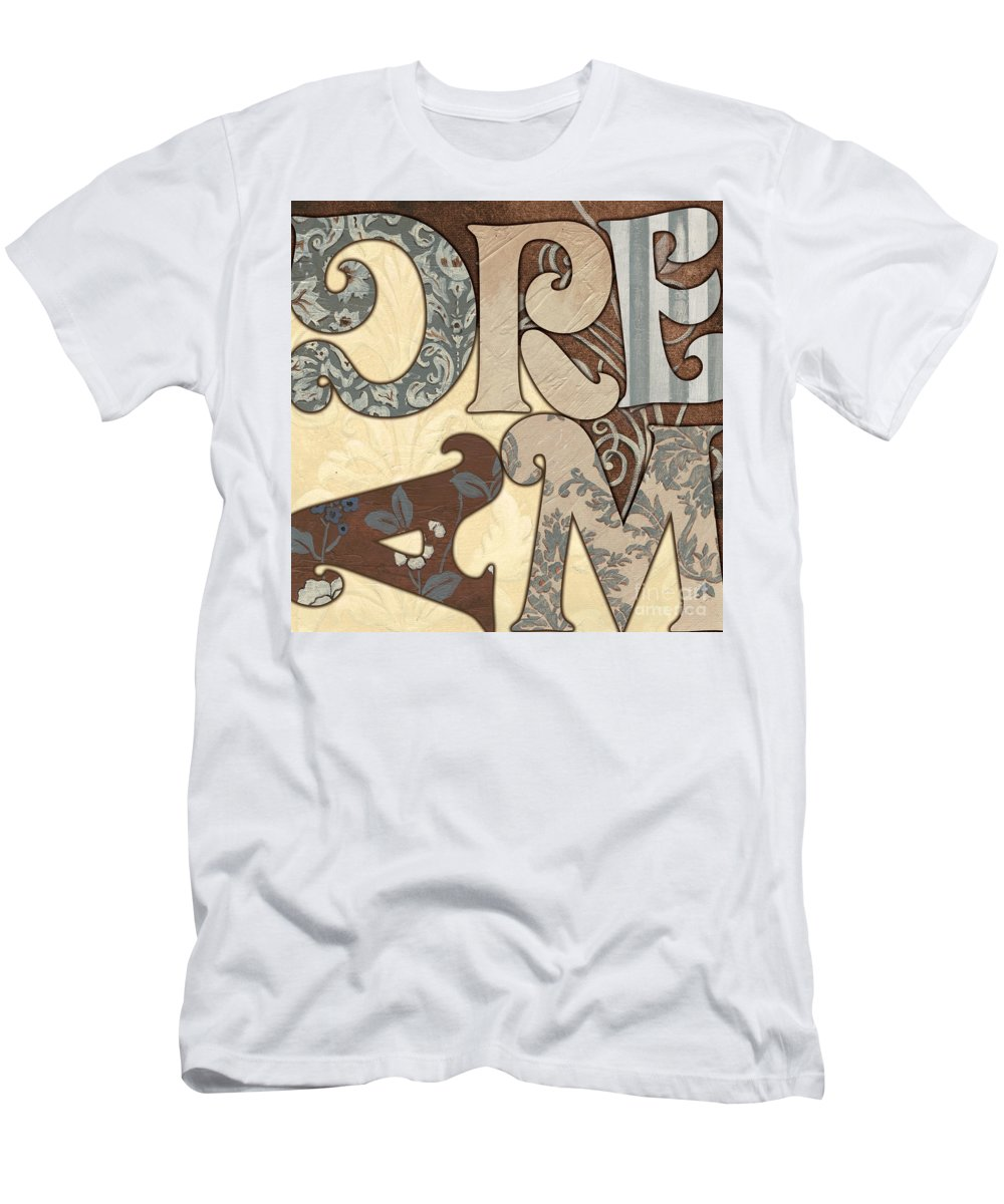 Dream Men's T-Shirt (Athletic Fit) featuring the painting Bohemian Dream by Debbie DeWitt