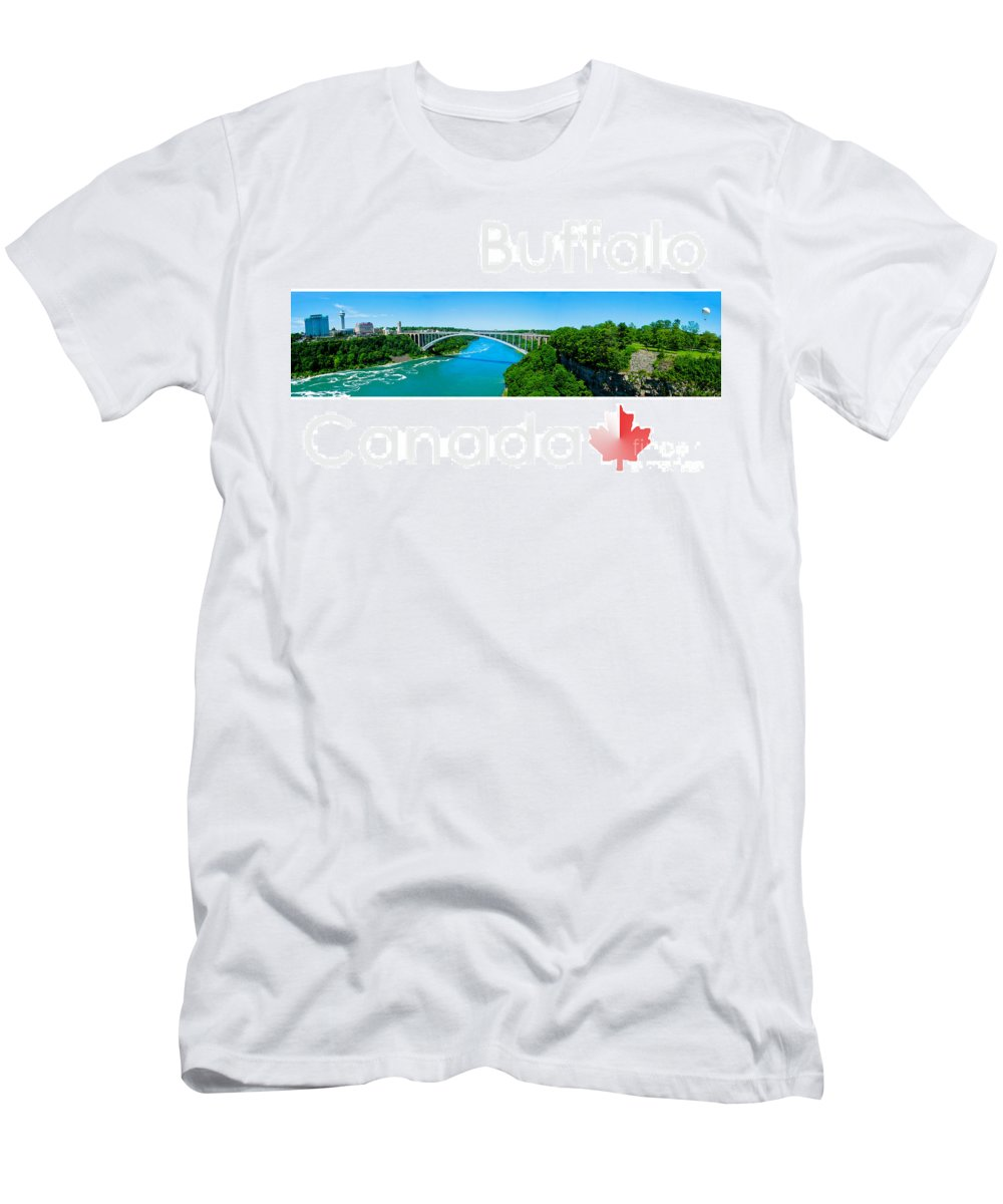 Canada Men's T-Shirt (Athletic Fit) featuring the photograph Buffalo Canada by Syed Aqueel