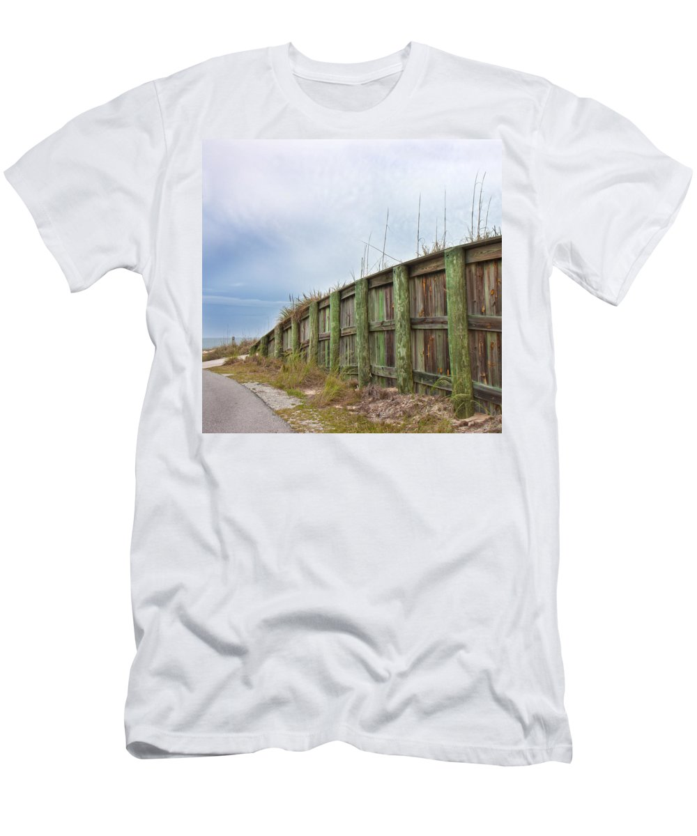 Bald Men's T-Shirt (Athletic Fit) featuring the photograph Calm Before The Storm by Betsy Knapp