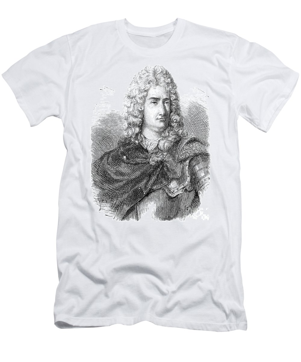18th Century Men's T-Shirt (Athletic Fit) featuring the photograph Charles-francois Du Fay by Granger