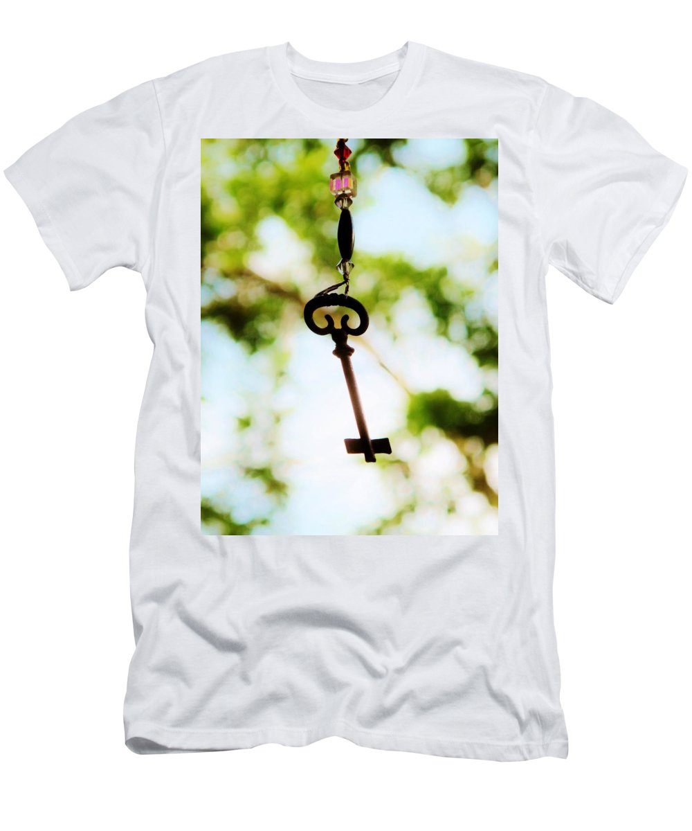 Key Men's T-Shirt (Athletic Fit) featuring the photograph Dream Key by Michele Nelson