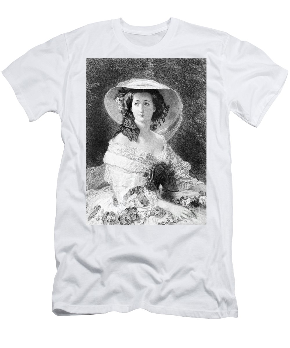 1872 Men's T-Shirt (Athletic Fit) featuring the photograph Empress Eugenie Of France by Granger