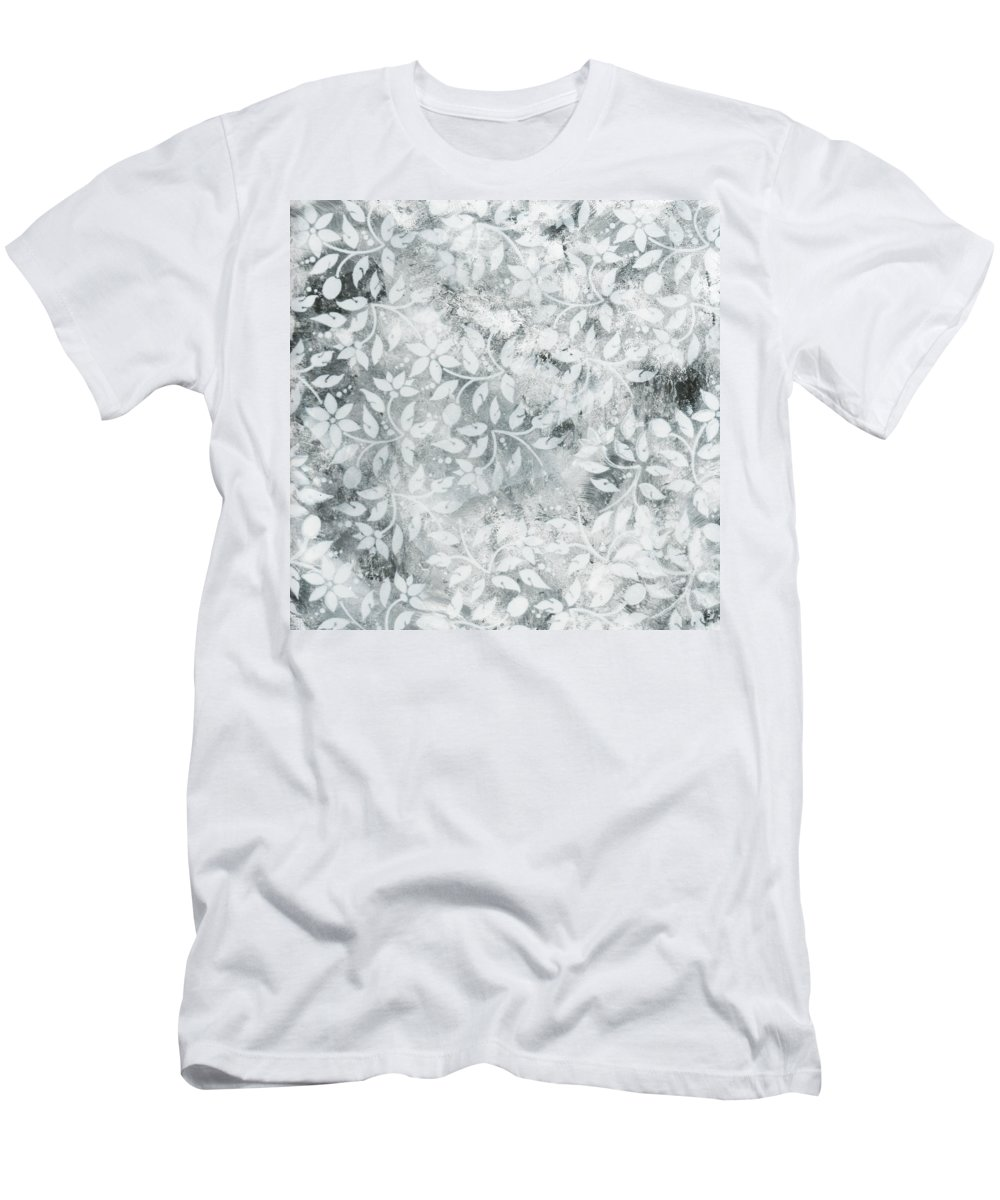 Painting Men's T-Shirt (Athletic Fit) featuring the painting Falls Design 2 by Megan Duncanson