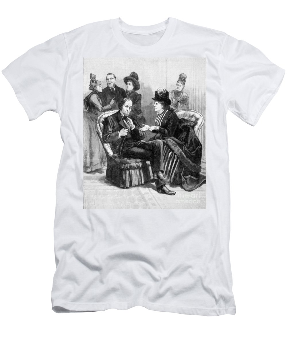 1888 Men's T-Shirt (Athletic Fit) featuring the photograph Female Lobbyists, 1888 by Granger
