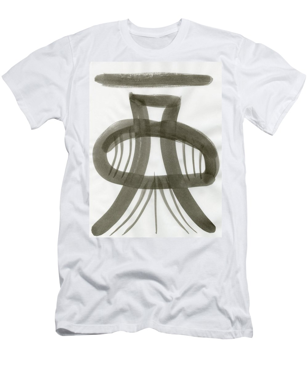 Firm Stance Men's T-Shirt (Athletic Fit) featuring the painting Firm Stance by Taylor Webb