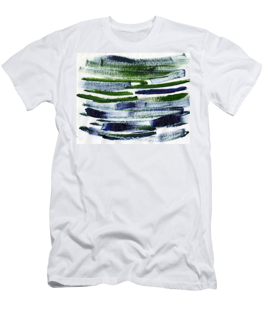 Genetic Destiny Men's T-Shirt (Athletic Fit) featuring the painting Genetic Destiny by Taylor Webb
