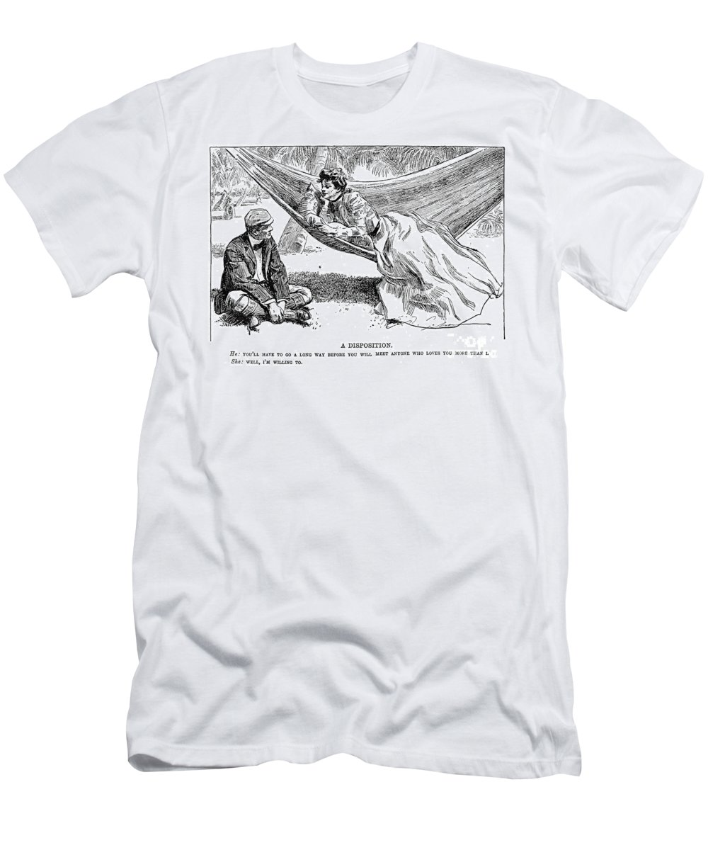1901 Men's T-Shirt (Athletic Fit) featuring the photograph Gibson: A Disposition by Granger